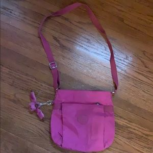 Kipling crossbody great condition very berry